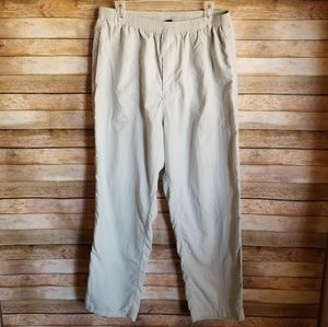 Patagonia Khaki Pants XL Outdoor Nylon Pants EUC